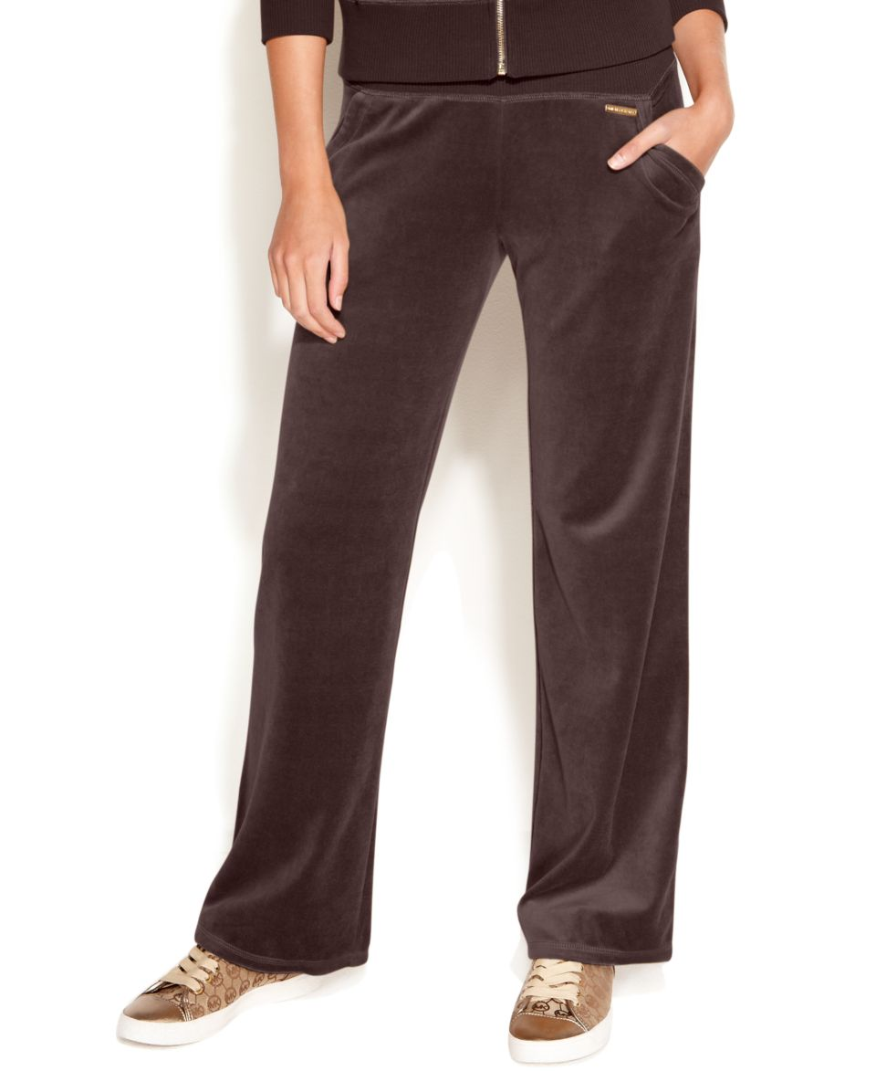 MICHAEL Michael Kors Velour Zip Jacket & Drawstring Pants   Women