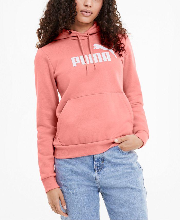 Puma - Logo Fleece Hoodie