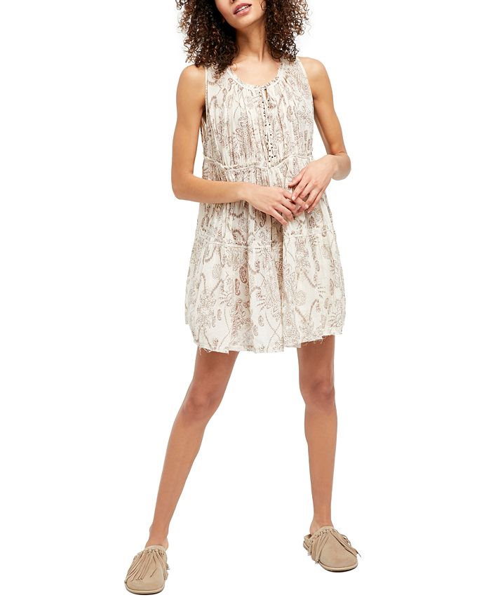 Free People - Sundown Nightie Cotton Dress