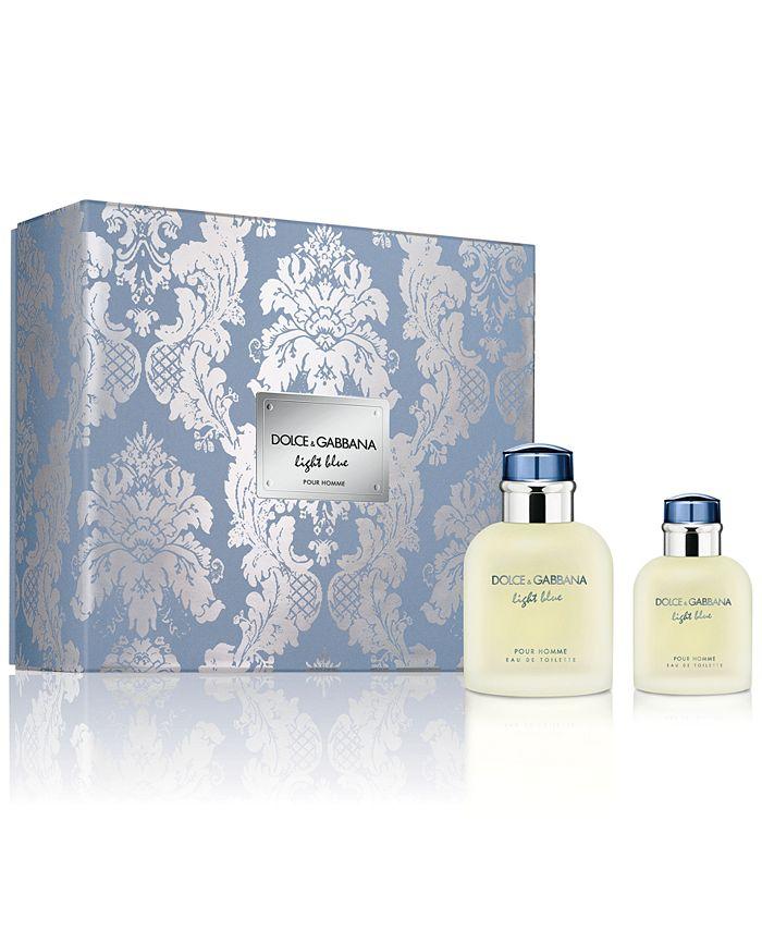 Dolce & Gabbana - DOLCE&GABBANA Men's 2-Pc. Light Blue Pour Homme Eau de Toilette Gift Set