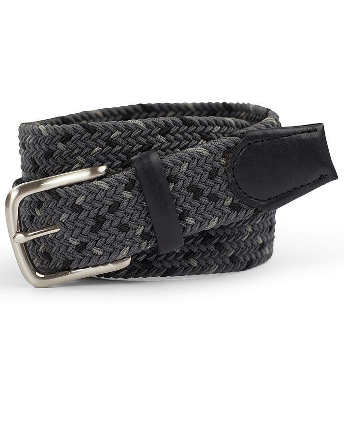 Club Room - Men's Braided Belt