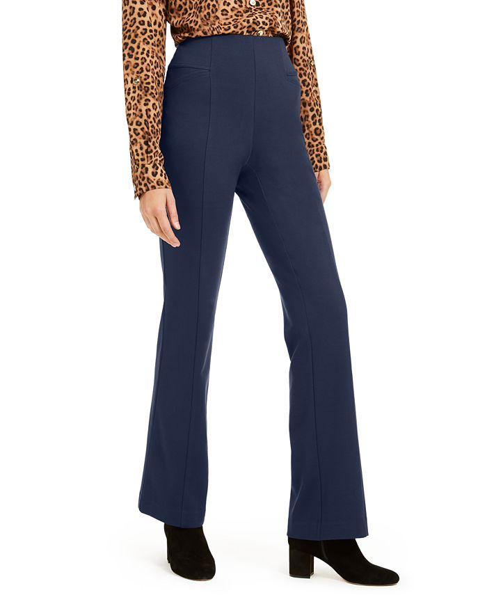 Inc International Concepts Inc High Waist Curvy Fit Bootcut Ponte Pants Created For Macy S Reviews Pants Leggings Women Macy S