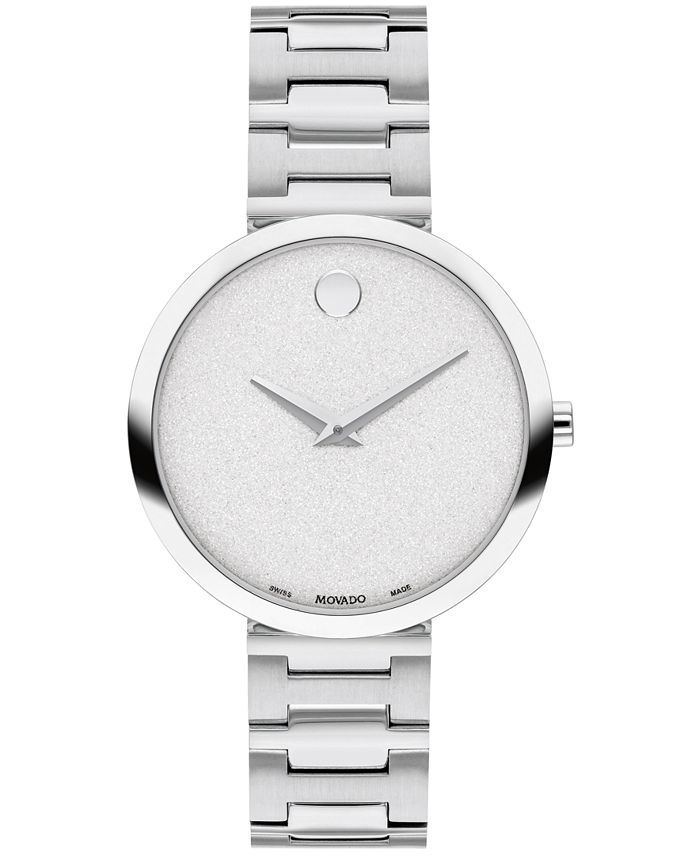 Movado - Women's Swiss Museum Classic Stainless Steel Bracelet Watch 32mm