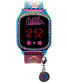 Accutime Kid's LOL Surprise Multicolored Silicone Touchscreen Watch 36x33mm