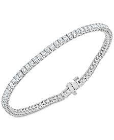Diamond Princess Tennis Bracelet (3-1/2 ct. t.w.) in 14k White Gold