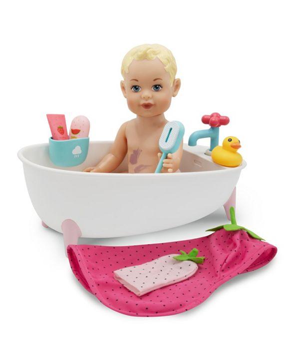 FAO Schwarz Toy Doll Bath Set 9pc