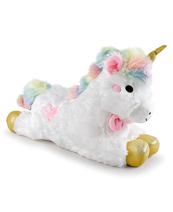 FAO Schwarz Toy Plush LED with Sound Unicorn 15inch