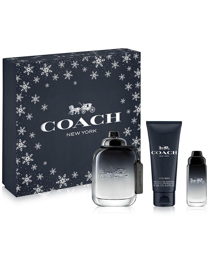 COACH - Men's 3-Pc. COACH For Men Eau de Toilette Gift Set