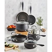 Deals on Belgique Hard-Anodized Aluminum 12-Pc. Nonstick Cookware Set