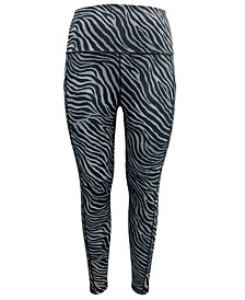 Ideology High-Rise Animal-Print 7/8 Leggings, Created for Macy's
