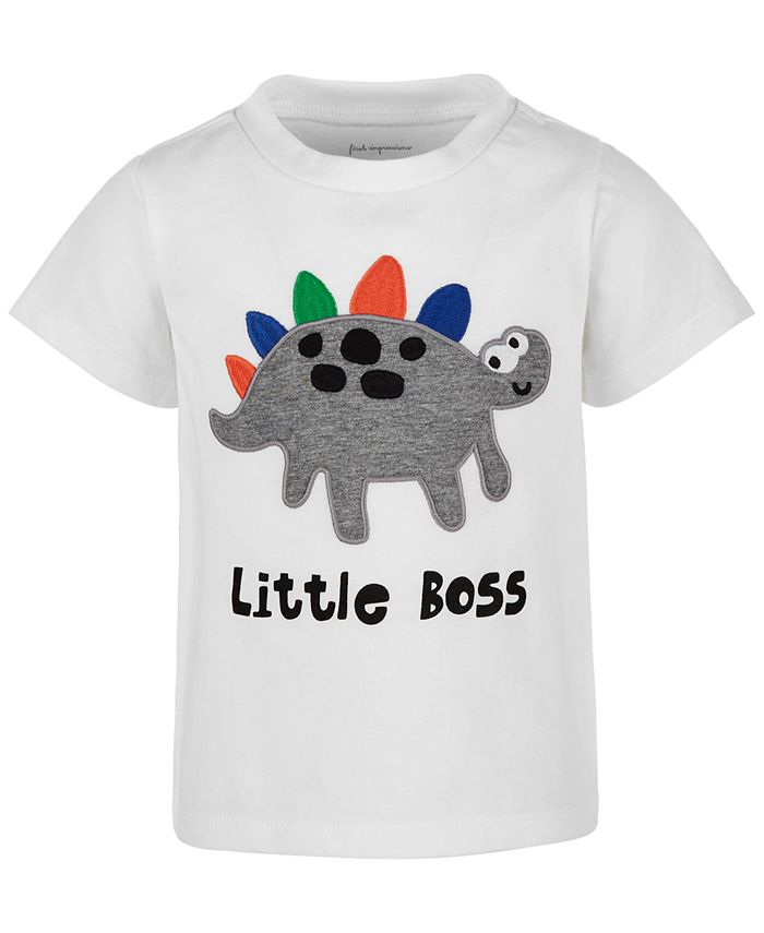 First Impressions - Baby Boys Little Boss T-Shirt
