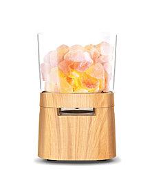 Vie Oli Himalayan Salt Lamp With Wireless Speaker