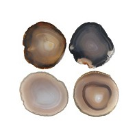 Deals on Thirstystone Natural Agate Coasters Set/4