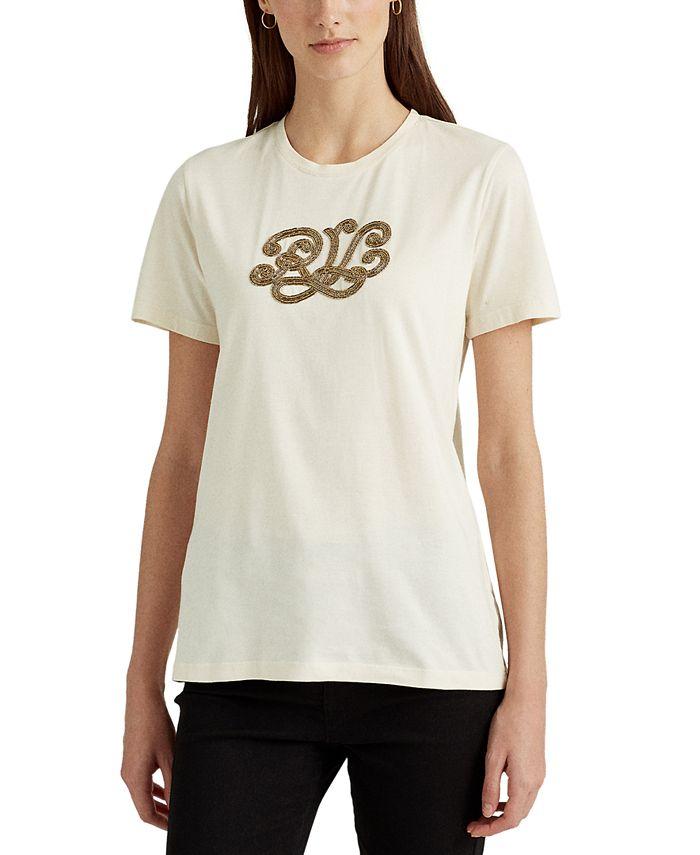 Lauren Ralph Lauren - Logo Cotton-Modal T-Shirt