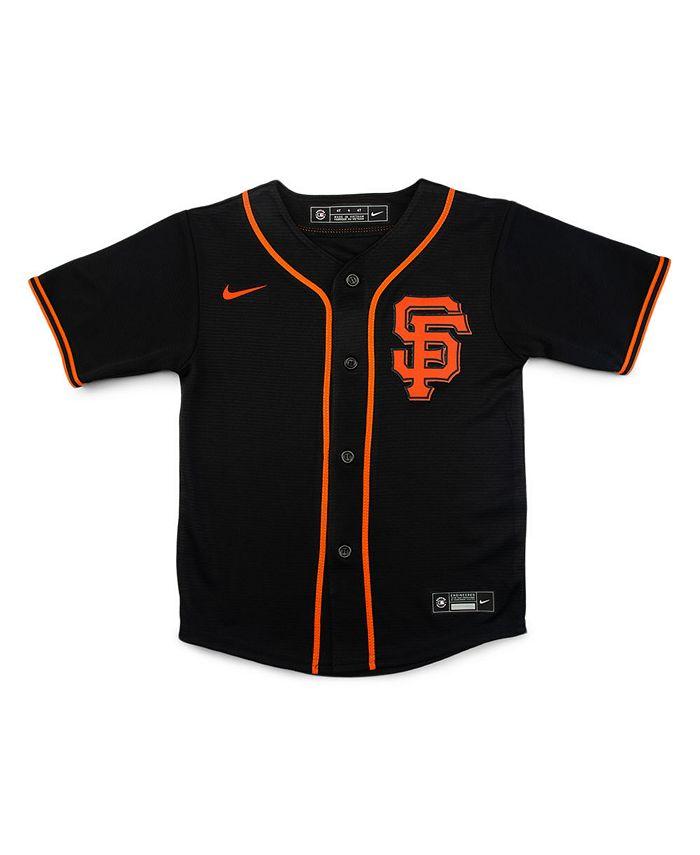 Nike - San Francisco Giants Kids Official Blank Jersey