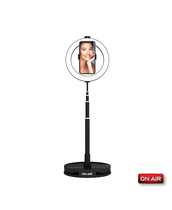 """Tzumi On Air HALO Travel Pro Compact Portable 10"""" Professional Ring Light by Tzumi"""