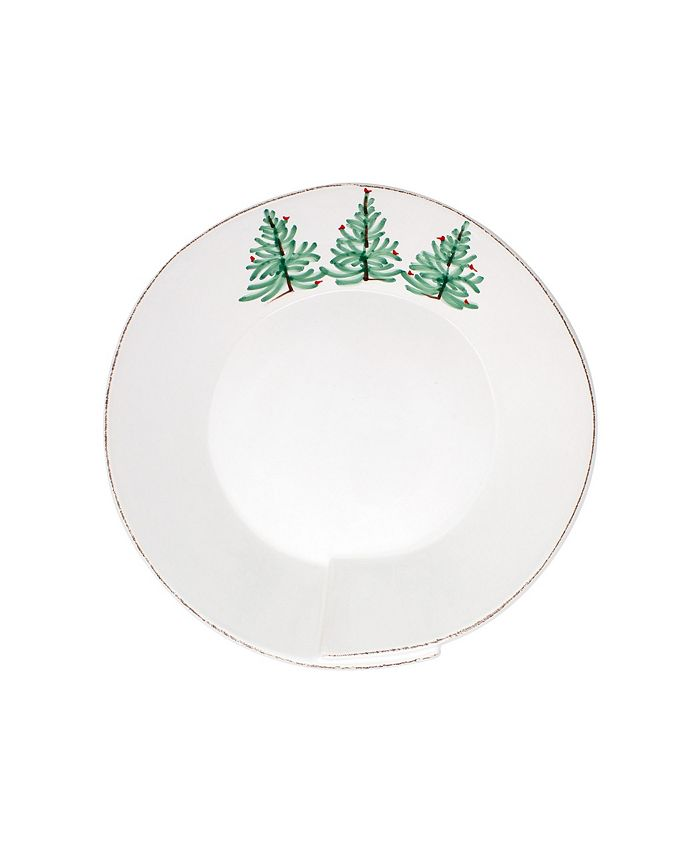 VIETRI - Vietri Lastra Holiday Medium Shallow Serving Bowl