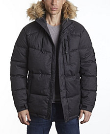 Perry Ellis Men's Puffer Snorkel Jacket