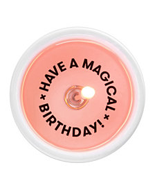 54 degrees Celsius Secret Message Candle - Have A Magical Birthday!