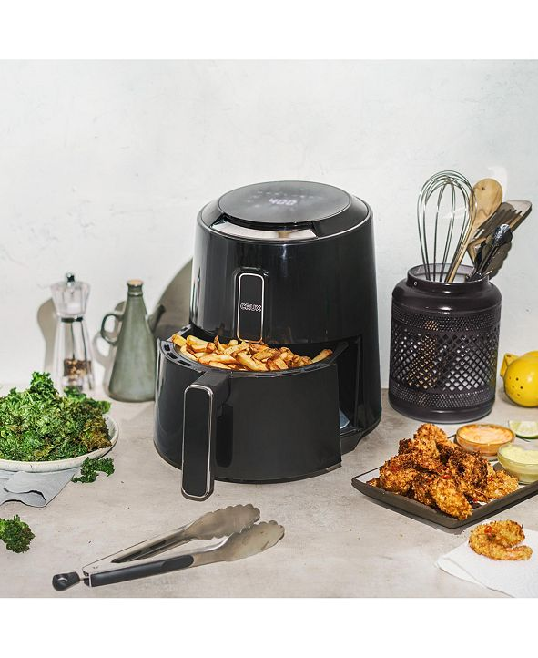 Crux 3.7-Quart Touchscreen Electric Air Fryer, Created for Macy's