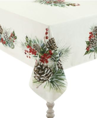 Winter Garland Tablecloth - 70