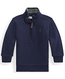 Ralph Lauren Baby Boys Cotton Interlock Pullover
