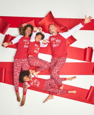 Matching Kids Ornament-Print Family Pajama Set, Created for Macy's