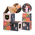 FAO Schwarz 16-Piece Cardboard Fort Building Set