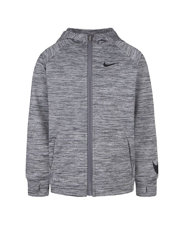 Nike Little Boys Dri-FIT Fleece Full-Zip Hoodie