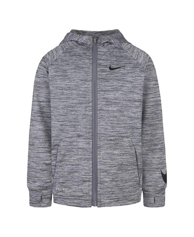Nike Toddler Boys Dri-FIT Fleece Full-Zip Hoodie