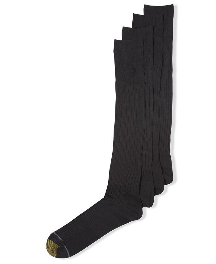 Gold Toe - Men's Socks, ADC Canterbury 3 Pack Crew Dress Socks + 1 Pair