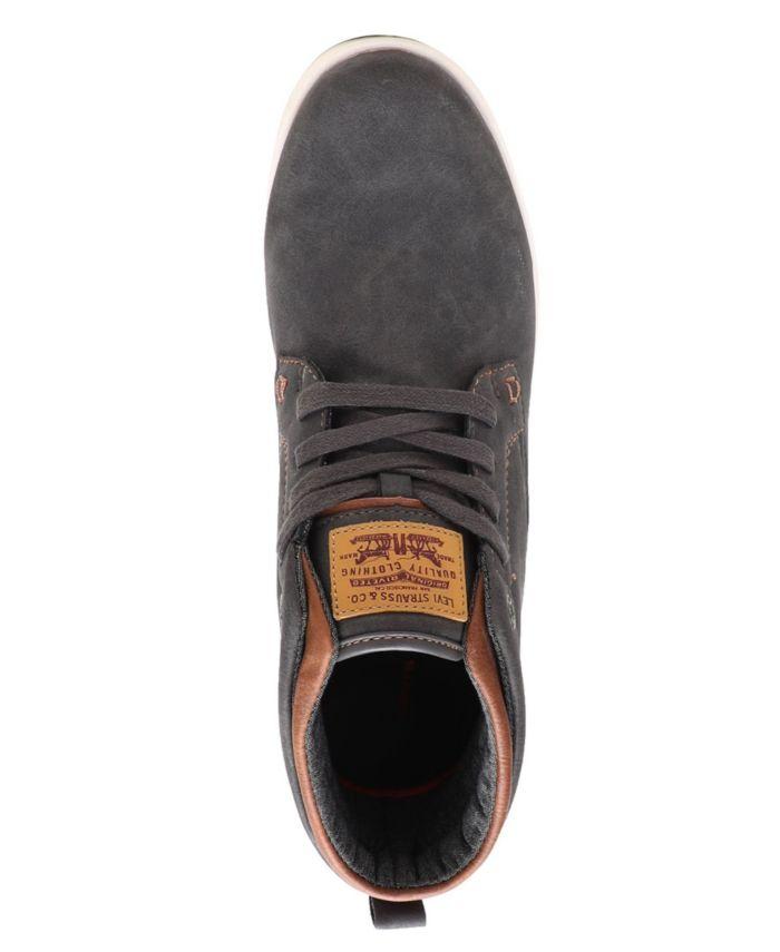 Levi's Men's Goshen Waxed Sneaker & Reviews - All Men's Shoes - Men - Macy's