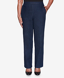 Women's Missy Hunter Mountain Denim Proportioned Medium Pant