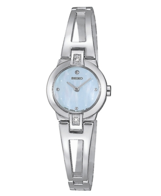 Seiko Watch, Women's Mother of Pearl Dial SUJ707
