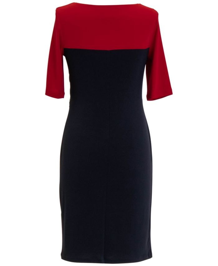 Connected Colorblocked Sheath Dress & Reviews - Dresses - Women - Macy's