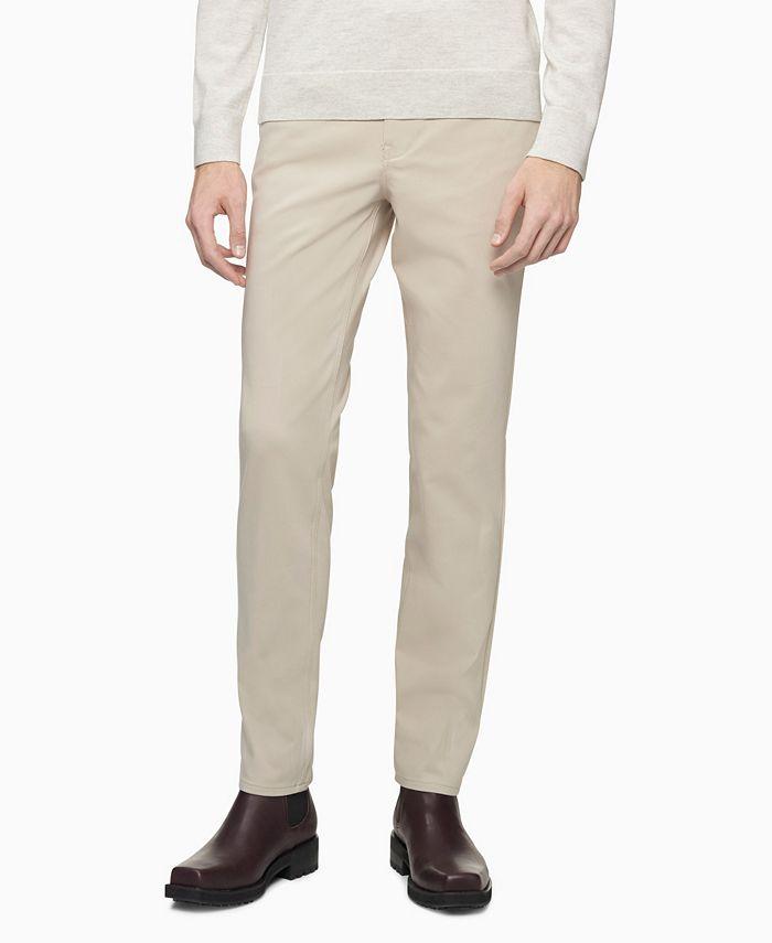 Calvin Klein - Men's Move 365 Slim-Fit Performance Stretch Pants