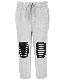 First Impressions Baby Boys Striped Knee Patch Pants, Created for Macy's