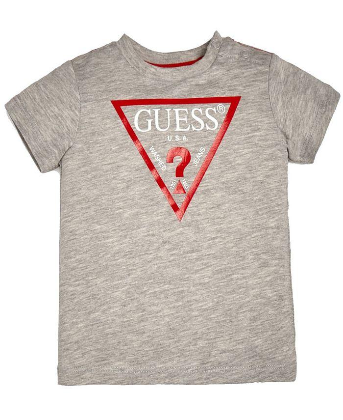 GUESS - Baby Boys Short Sleeve Classic Logo T-Shirt
