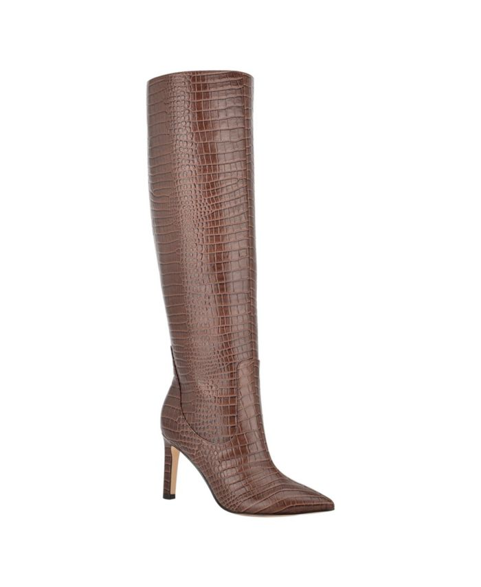 Nine West Women's Maxim Tall Stiletto Boots & Reviews - Women - Macy's