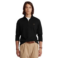 Deals on Polo Ralph Lauren Mens Estate-Rib Cotton Quarter-Zip Pullover