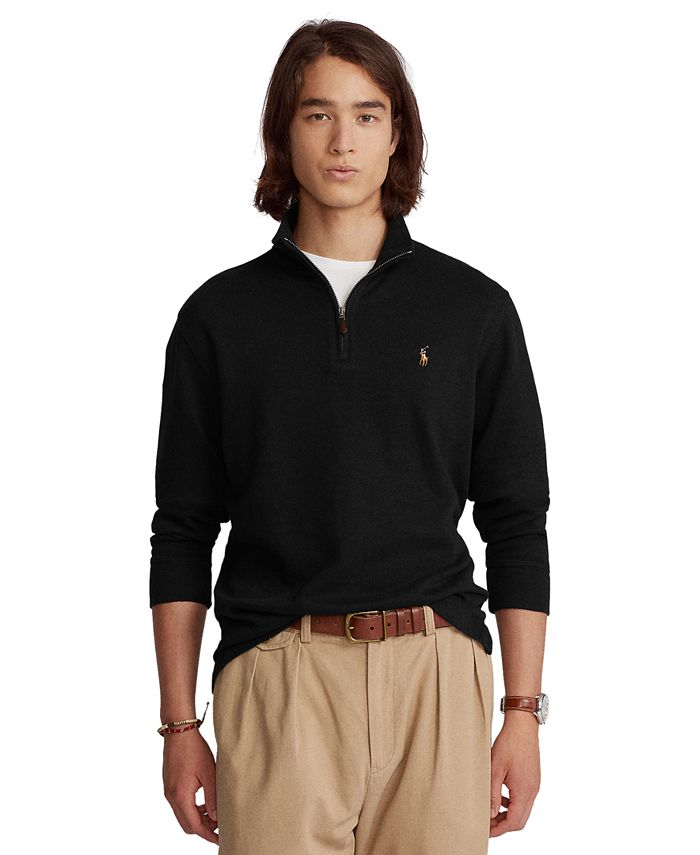 Polo Ralph Lauren - Men's Estate-Rib Mock-Neck Pullover