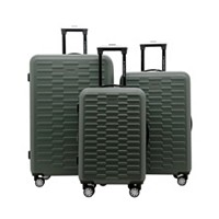 3-Pieces Travelers Club Shannon Spinner Expandable Luggage Set (Multiple Colors)