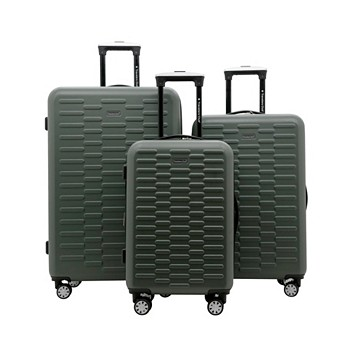 Travelers Club 3 Piece Shannon Spinner Expandable Luggage Set