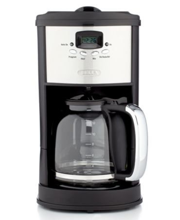Coffee Maker On Clearance : CLEARANCE Bella 14015 12-Cup Programmable Polished Stainless Steel Coffee Maker - Coffee, Tea ...