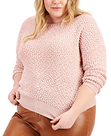 FULL CIRCLE TRENDS Trendy Plus Size Sweater