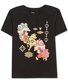Disney Juniors' Mickey & Minnie Mouse Parade T-Shirt