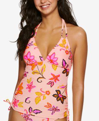 Juniors' Endless Tropical Tankini Top, Created for Macy's
