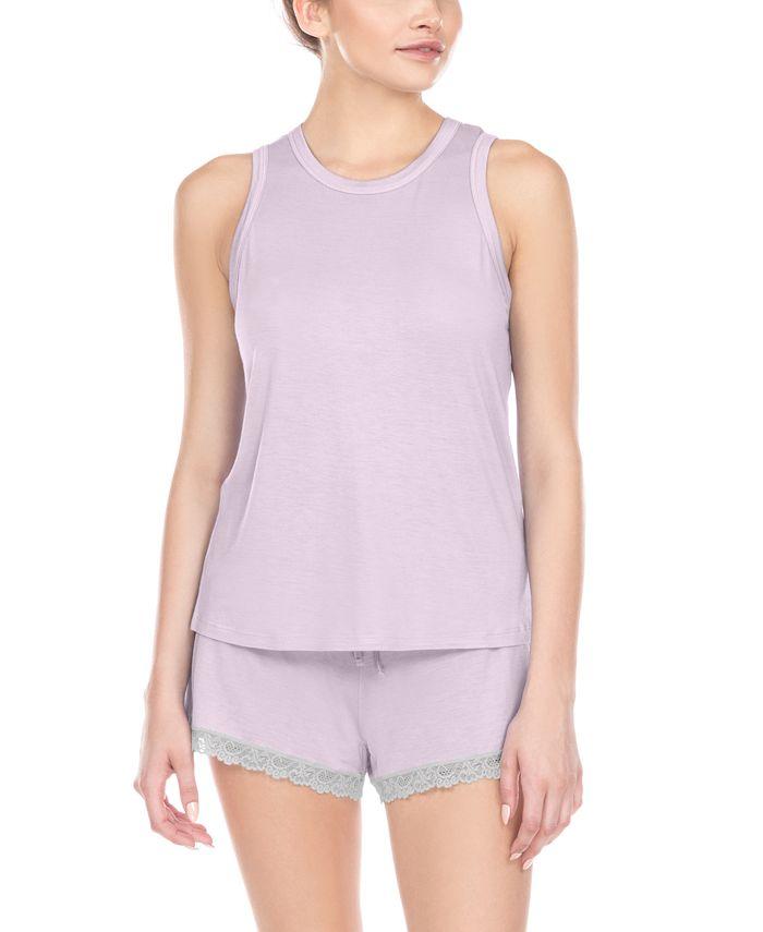 Honeydew - Lace-Trim Shorts Pajamas Set