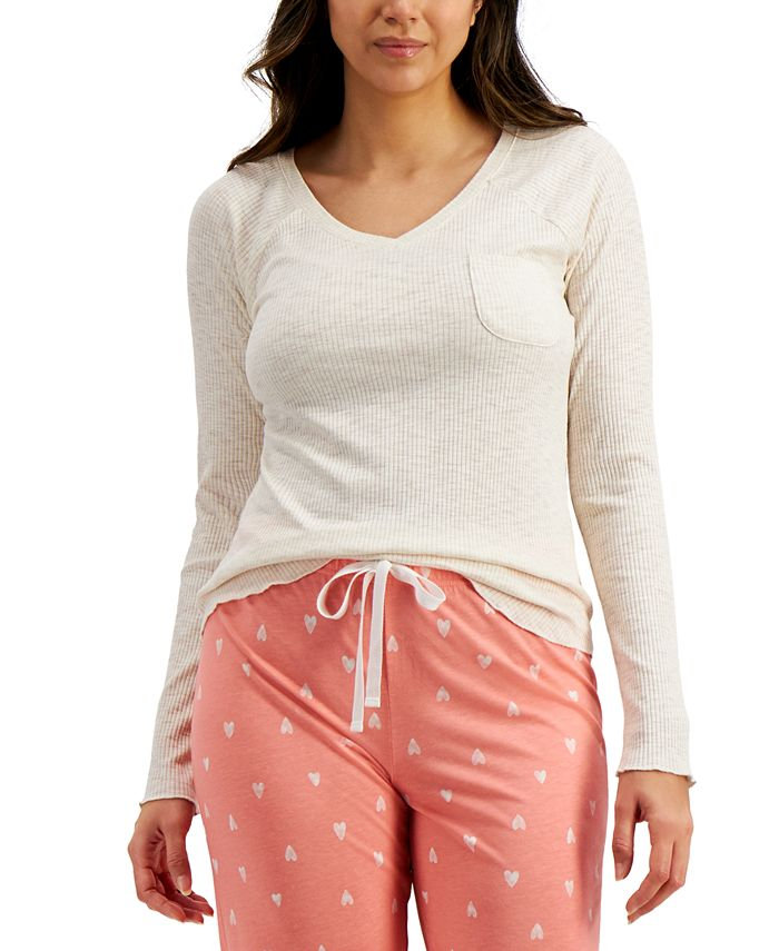 Jenni - Ribbed Pajama Top