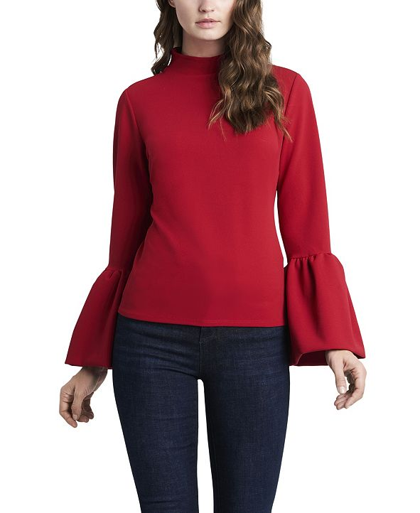 Vince Camuto Women's Top Puff Sleeves